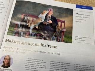 Amber Crosthwaite writes for Business News: Making Ageing Mainstream
